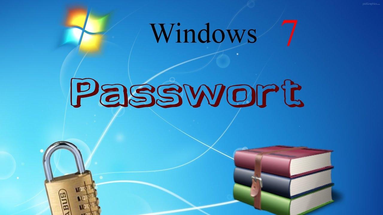Win 7 Passwort Auslesen