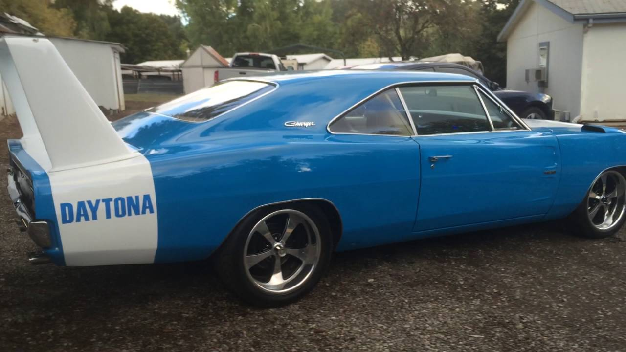 69 Daytona Charger 572 Hemi Sound Youtube