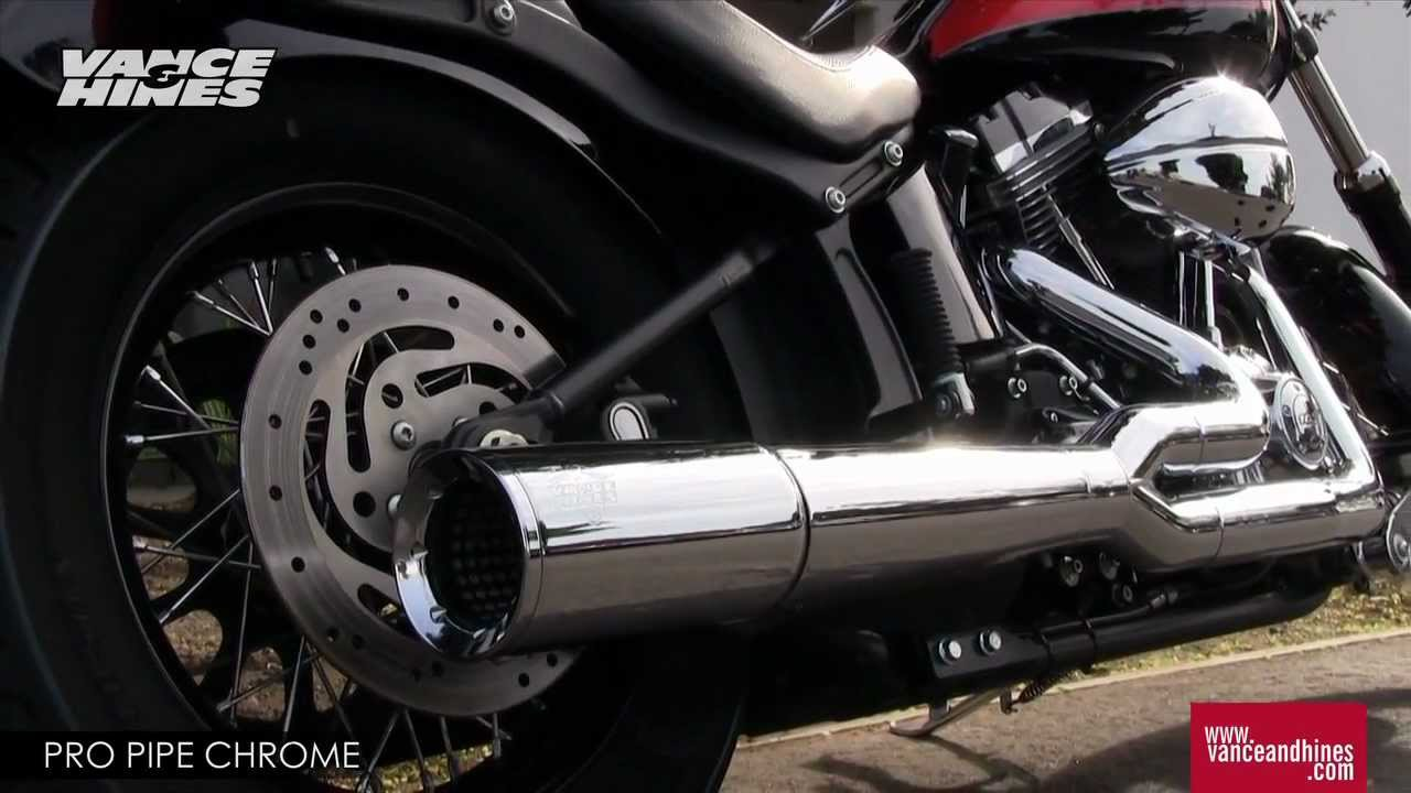 Freedom Harley Davidson >> Pro Pipe Chrome for 2012 Harley-Davidson Softail models ...