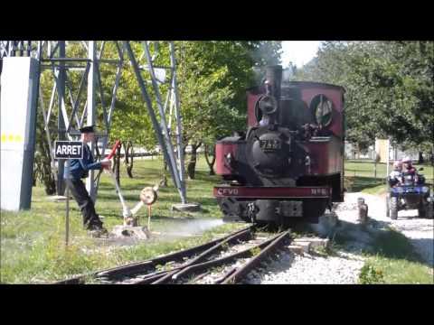 Chemin de Fer Touristique du Haut-Rhone (A narrow gauge railway in France)