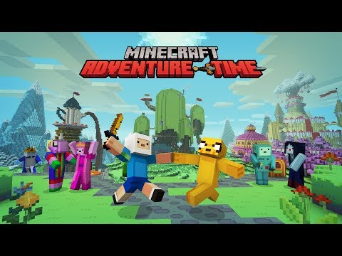 Minecraft Adventure Time Mash-Up Pack Gameplay Review