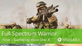 Full Spectrum Warrior (Xbox) - Gameplay - Xbox One X