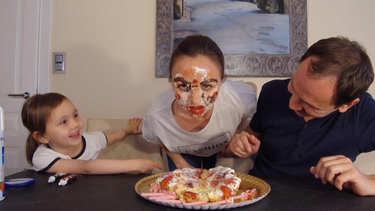 Картинки смешных тортов на лице, смешные картинки картинка