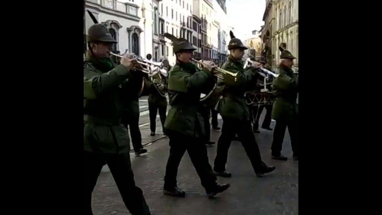 Fanfara Alpina Ossolana in sfilata e concerto Duomo Milano 2018