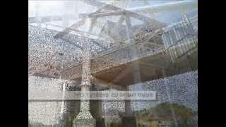 וילה בורד תקרה חיצונית מתחת לגשרים  כפר סבא