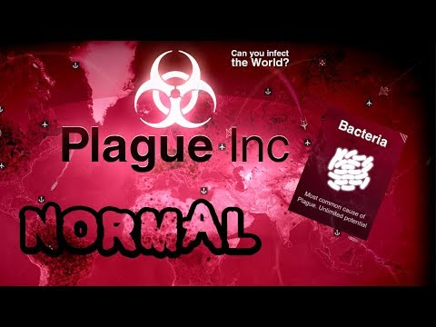 💖 Plague Inc:How To Beat Bacteria On Normal! 💖