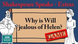 Can Will guess the phrase? Shakespeare Speaks Extras