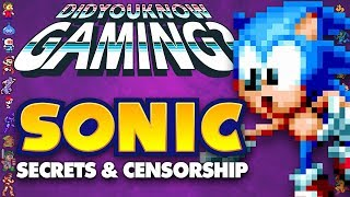 Sonic Secrets and Censorship - Did You Know Gaming? Feat. Greg