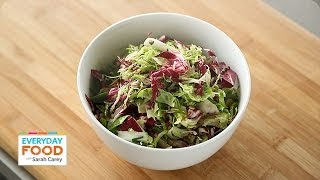 Brussels Sprout Slaw - Everyday Food With Sarah Carey
