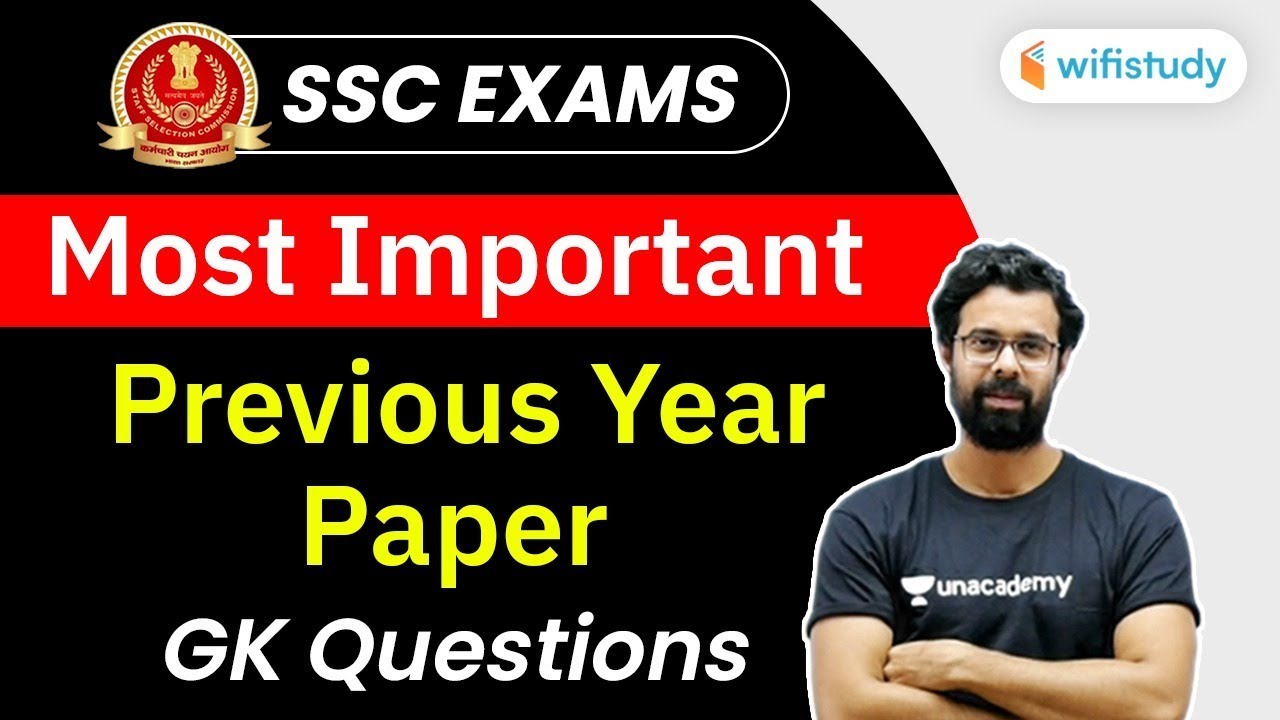 All SSC Exams | SSC Previous Year Question Papers GK by Bhunesh Sir