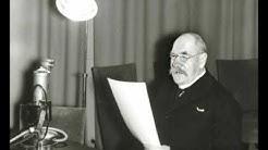 Mäntsälän kapinan lopettaneen presidentti Pehr Evind Svinhufvudin radiopuhe