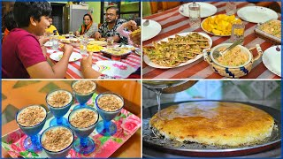 Preparing Delicious Dinner recipes for Family | Pan Pizza, Pan Kunafa, Cold Tuna Salad | Avil Milk