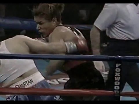 First round KO! Lucia Rijker  best female boxer ever (54-0-0) en streaming