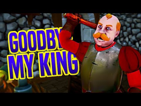 YOU'RE NOT THE KING?! - ENDING OF CHAPTER 1 - Goodbye My King Gameplay thumbnail