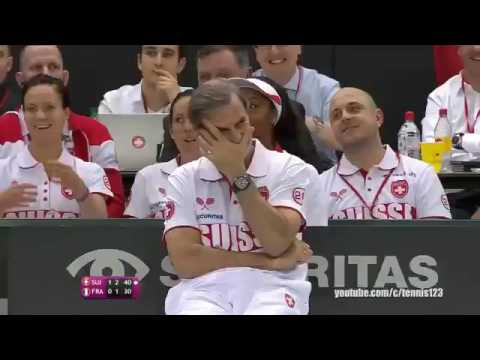 Bacsinszky Hingis Vs Hesse Mladenovic First Round 2017 Fed Cup Highlight