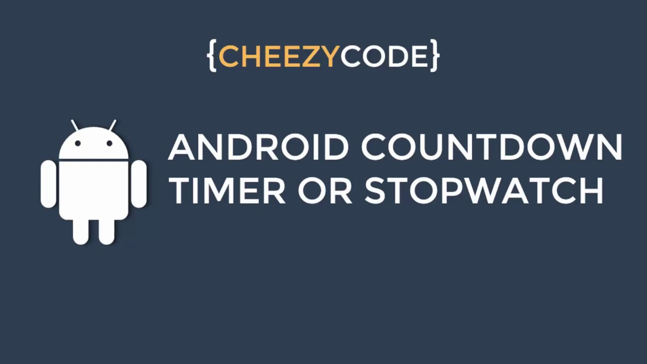 Android Countdown Timer Tutorial   Android Handler Timer With Examples - #10