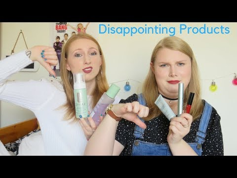 Disappointing Products| Autumn 2017