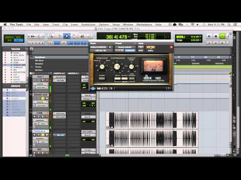 Fixing a Buried Snare in the Mix with Parallel Compression