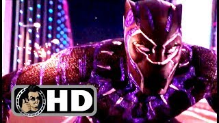 "BLACK PANTHER Movie Clip - ""Car Chase"" + Trailer (2018) Marvel Superhero Movie HD"