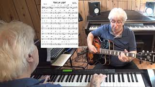TRAV'LIN' LIGHT  - Jazz guitar & piano cover ( Jimmy Mundy & Trummy Young )