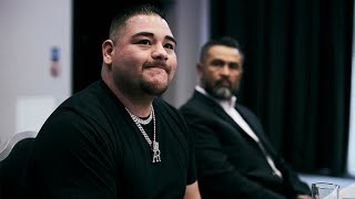 BREAKING: ANDY RUIZ JR LEAVES TRAINER MANNY ROBLES AS ADVISED BY AL HAYMON!!