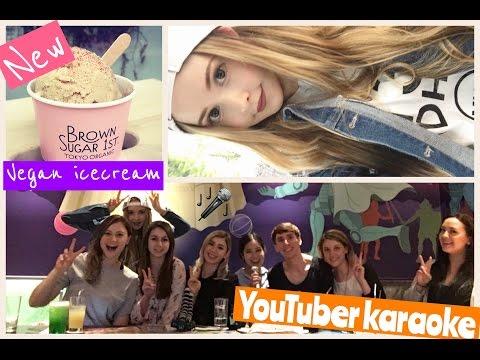 Vlog | Youtuber Karaoke & New Vegan Ice Cream in Harajuku