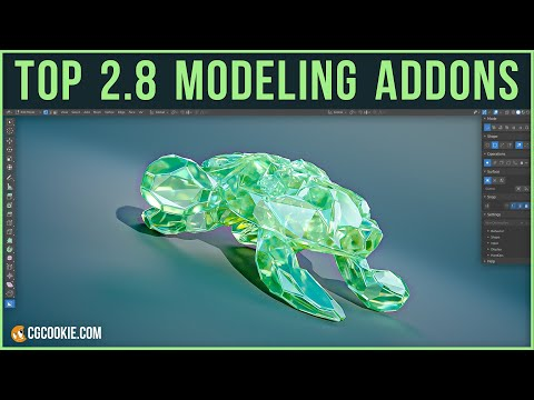 The Top 10 Modeling Addons for Blender 2 8 - CG Cookie