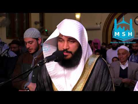 SHEIKH ABDULRAHMAN AL OSSI AT THE MSH