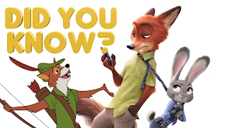 Zootopia - Did You Know | 10 Fun Facts About Zootropolis | Zootopia Easter Eggs - MOVIE MISTAKES