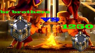 Ataques de th12 na guerra | Clash of Clans - Br brothers