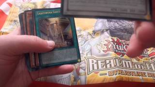 Baixar Yu-Gi-Oh (Realm of Light) Deck Unboxing/Opening