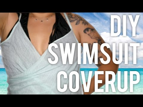 658f23a5ee6cb How to Make Swimsuit Cover Up : DIY - YouTube