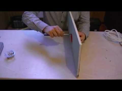 Как установить розетку в стену из гипсокартона