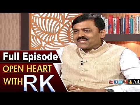 BJP MP GVL Narasimha Rao Open Heart With RK | Full Episode | ABN Telugu