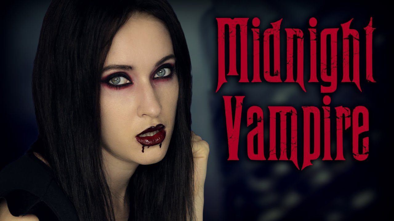 halloween makeup tutorial sexy vampire mortitia addams. Black Bedroom Furniture Sets. Home Design Ideas