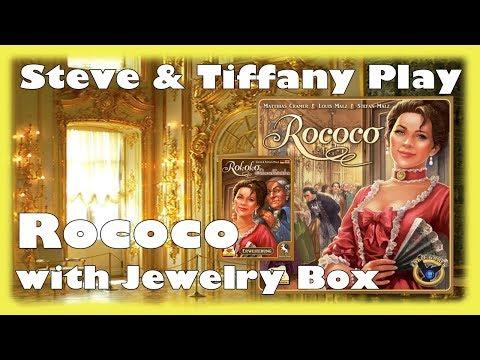 Steve & Tiffany Learn & Play: Rococo w/ Jewelry Box