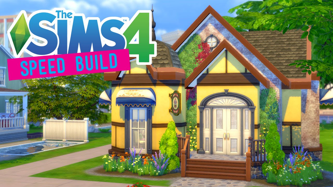 The Sims 4 Sd Build Starter Restaurant Under 30k Dine Out No Cc You