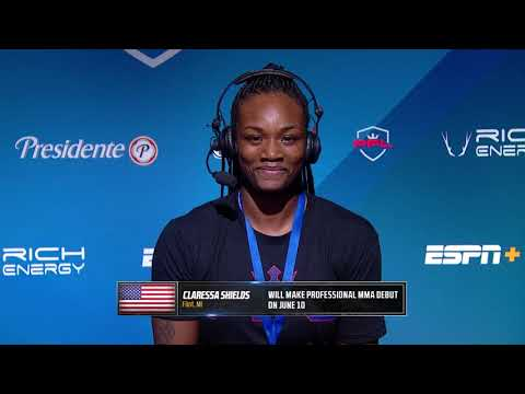 Claressa Shields Interview with Sean O'Connell at PFL 3, 2021