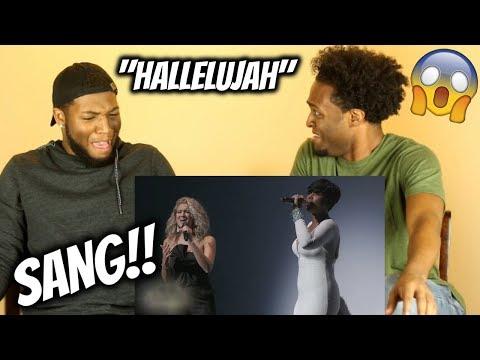 "Jennifer Hudson & Tori Kelly Perform ""Hallelujah"" (FREAKIN' AMAZING!! WE FELL!!)"