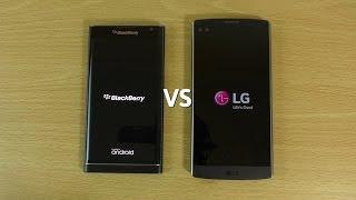 Blackberry Priv VS LG V10 - Speed & Camera Test!