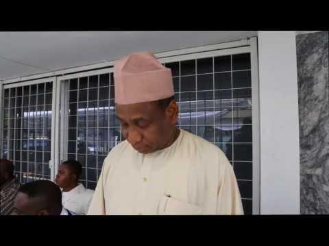 NIGERIA AMBASSADOR TO MALAYSIA GIVE OATH TO NIDO-MY  NEW EXECUTIVE 2013