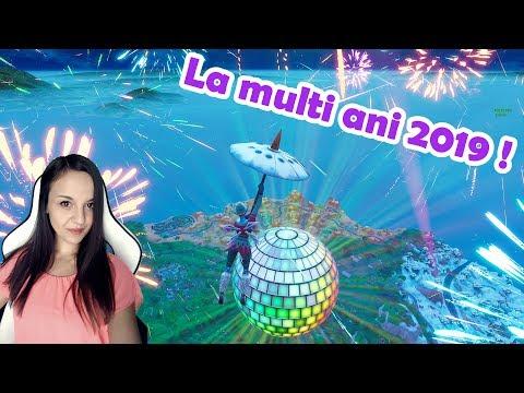 FORTNITE -  La Multi Ani 2019! 💜