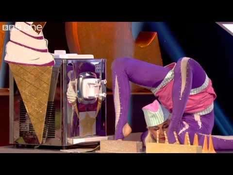 No Hands Ice Cream Challenge - Epic Win - Episode 6 - BBC One