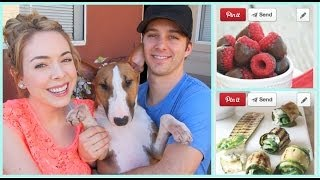 ♡ FAVORITE PINTEREST RECIPES with Dan!