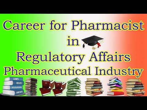 Pharmaceutical Regulatory Affairs - Career as Regulatory Professional