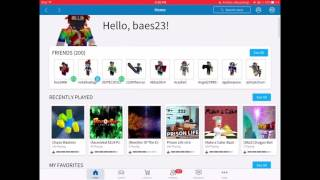 Introduction for myself in ROBLOX ;) - My username is 'baes23'