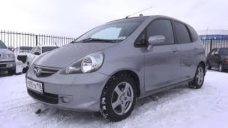 2008 Honda Jazz 1.3 МТ.  Start Up, Engine, and In Depth Tour.