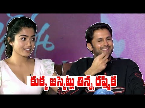 Nithin Hilarious Comedy with Rashmika | Bheeshma Movie FUNNY Interview | Nithiin | Rashmika Mandanna