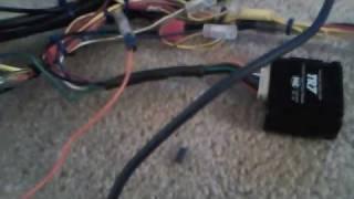 alpine ixa w404 pre installation system test
