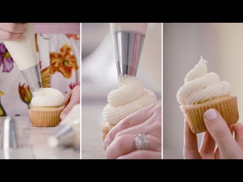 DIY Piping Flower Nail Icing Cream Bake Cake Decorating Pastry Tools Cupcak E8U2